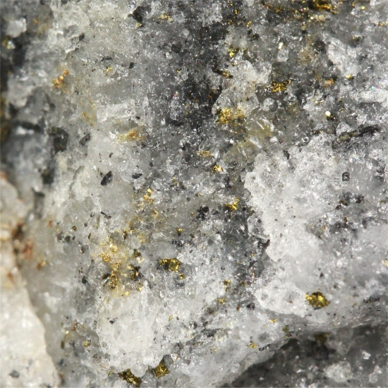 Gold With Galena & Chalcopyrite