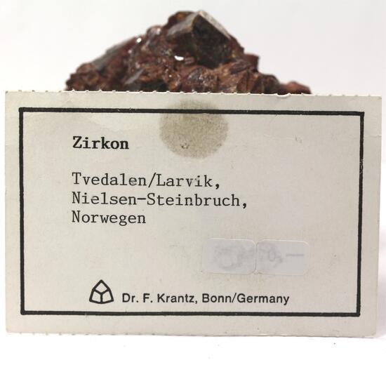 Zircon With Aegirine & Feldspar