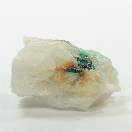 Gold With Malachite & Bournonite