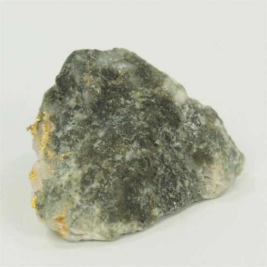 Gold With Sphalerite