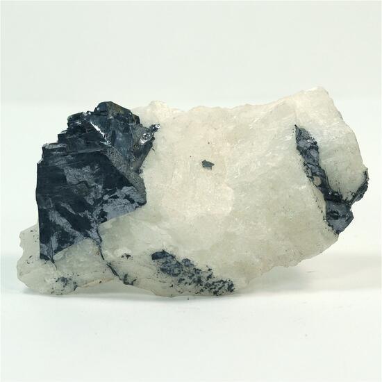 Galena with Calcite