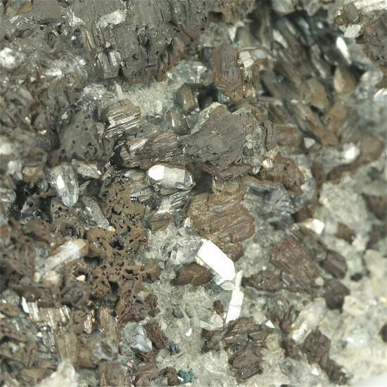 Chalcocite With Quartz