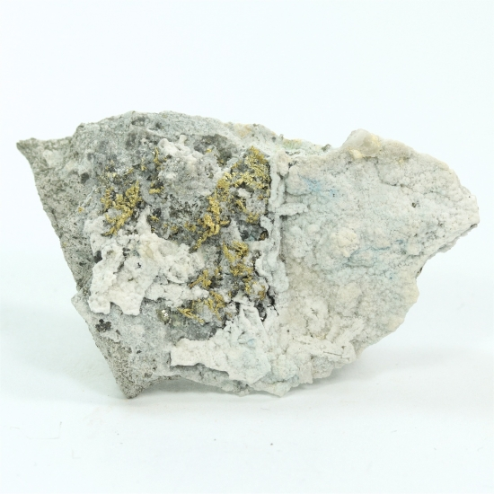 Gold With Pyrite & Argyrodite