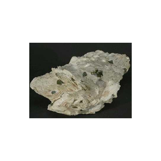 Baryte & Chalcopyrite