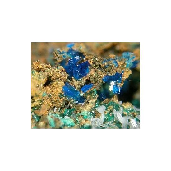 Rosasite Linarite & Anglesite