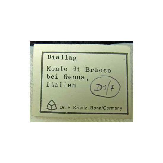 Diopside Var Diallage