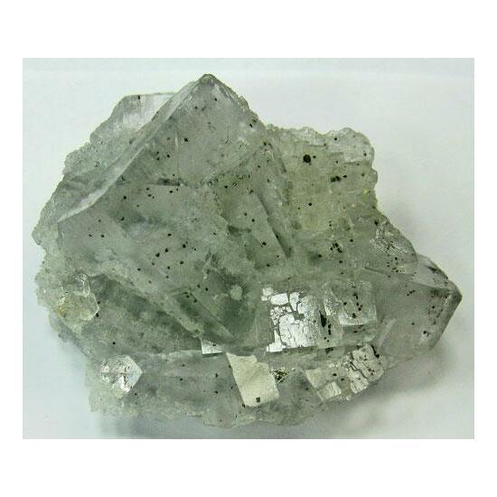 Cinnabar In Fluorite