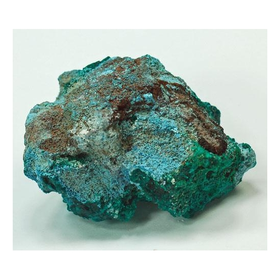 Plancheite With Dioptase