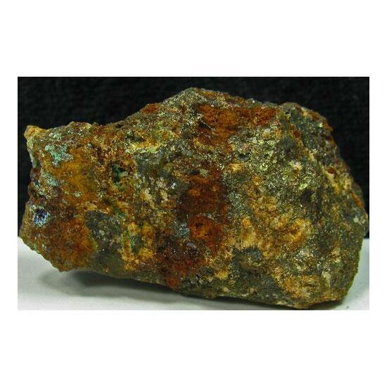 Cuprite & Linarite & Brochantite