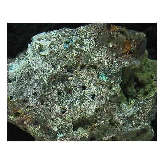 Wroewolfeite & Hydrozincite