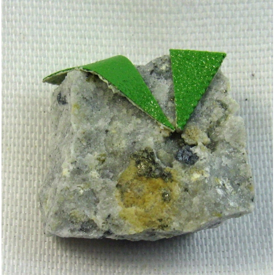 Goldfieldite & Pyrite