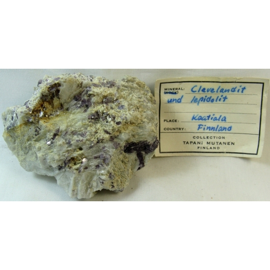Cleavelandite & Lepidolite