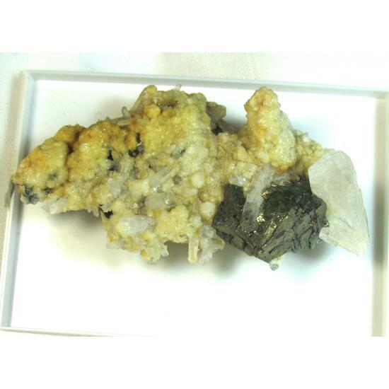 Arsenopyrite & Quartz & Sphalerite