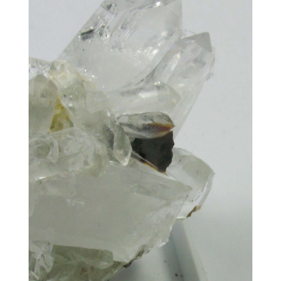 Brookite & Quartz