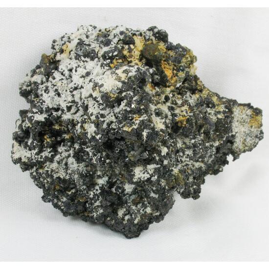 Sphalerite & Quartz & Nacrite & Pyrite