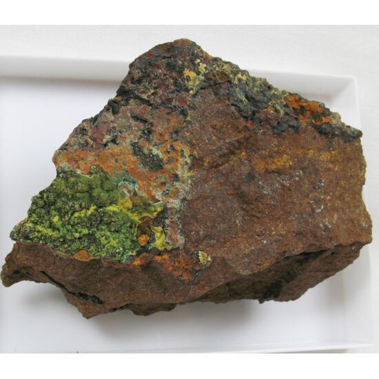 Chalcosiderite & Hinsdalite