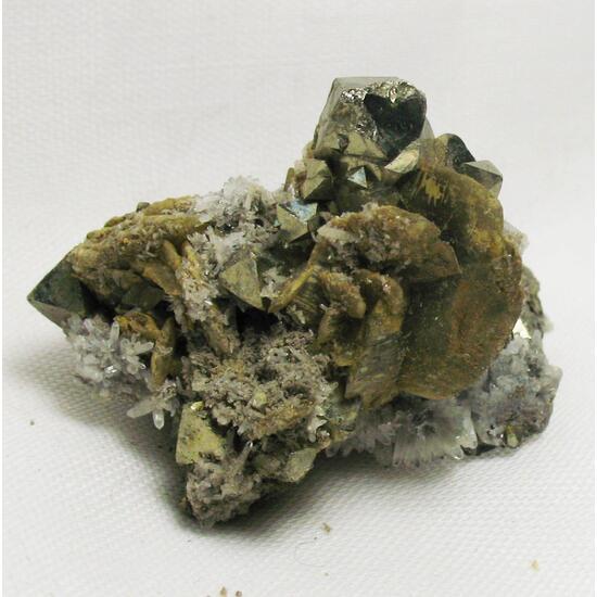 Pyrite & Siderite