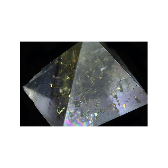 Fluorite With Pyrite Inclusions