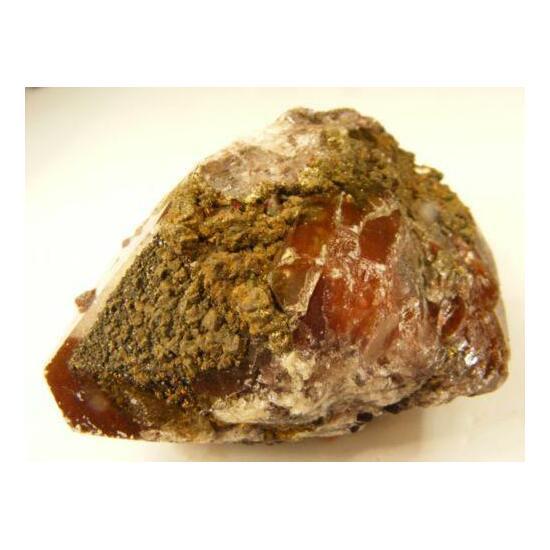 Baryte With Chalcopyrite