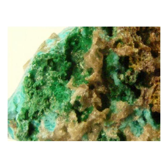 Chrysocolla With Cerussite