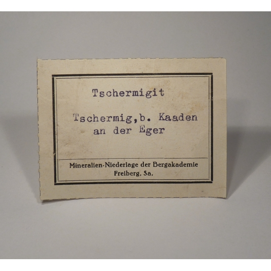 Tschermigite