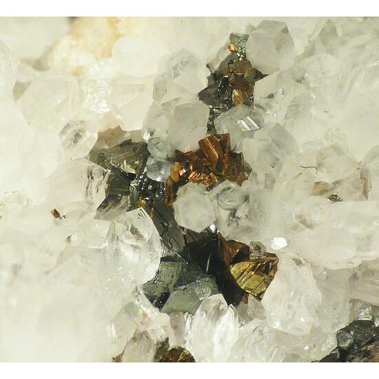 Chalcopyrite & Tetrahedrite