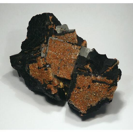 Fluorite & Eisenkiesel