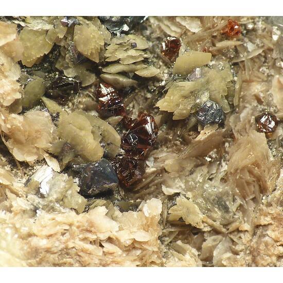 Sphalerite & Bournonite