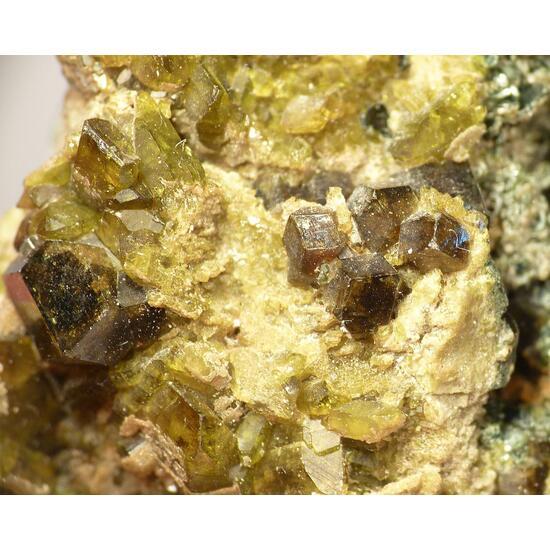 Melanite & Vesuvianite