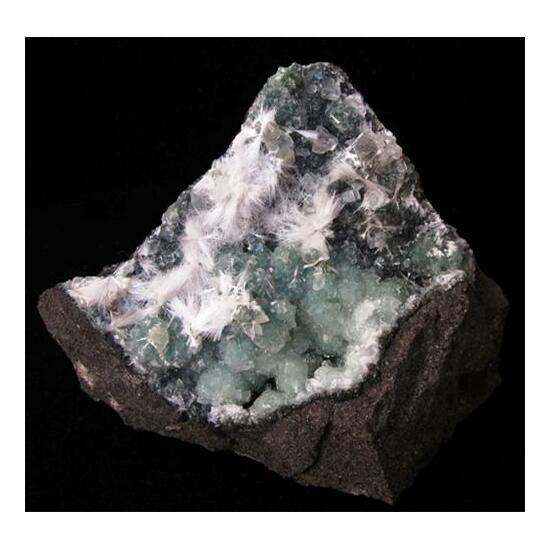 Mordenite Calcite & Apophyllite