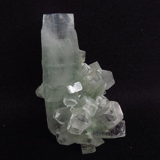 Apophyllite With Stilbite On Chalcedony