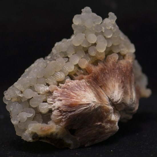 Scolecite With Chalcedony