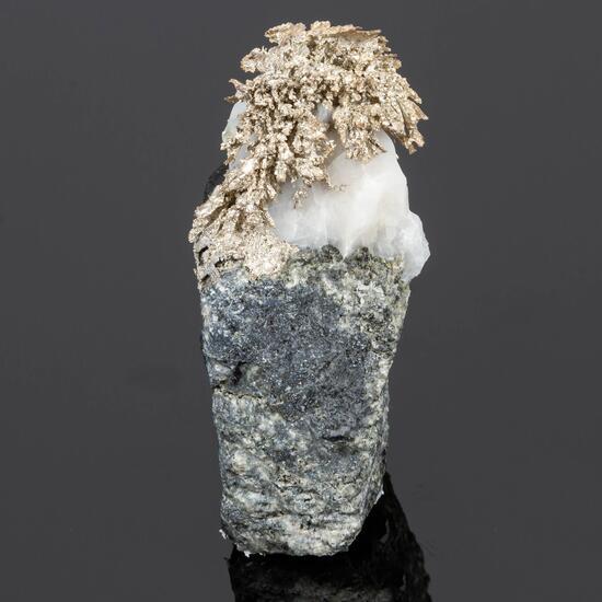 Silver & Calcite