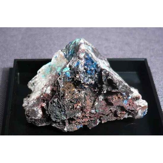 Linarite Caledonite & Brochantite