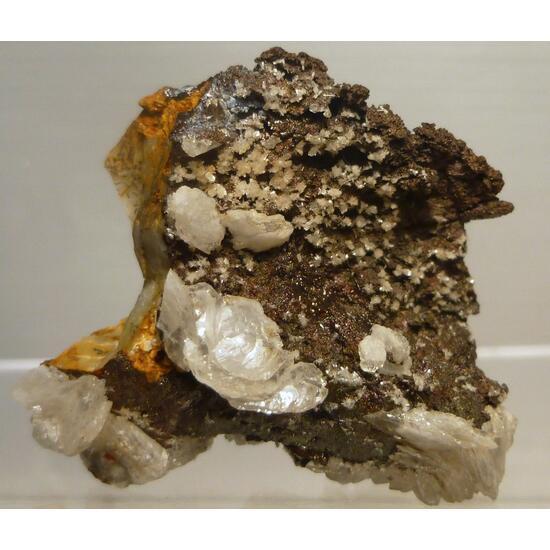 Calcite Hemimorphite & Goethite