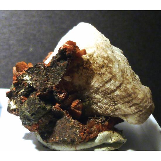 Calcite & Heulandite