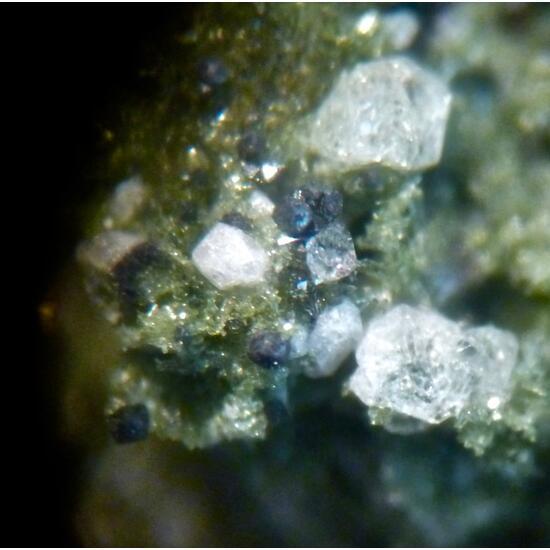 Leucite Magnetite & Pyroxene Group