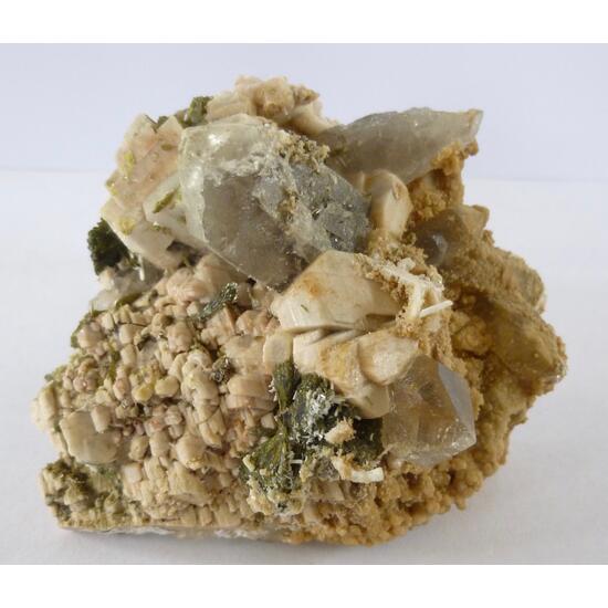 Laumontite Quartz Epidote & Orthoclase