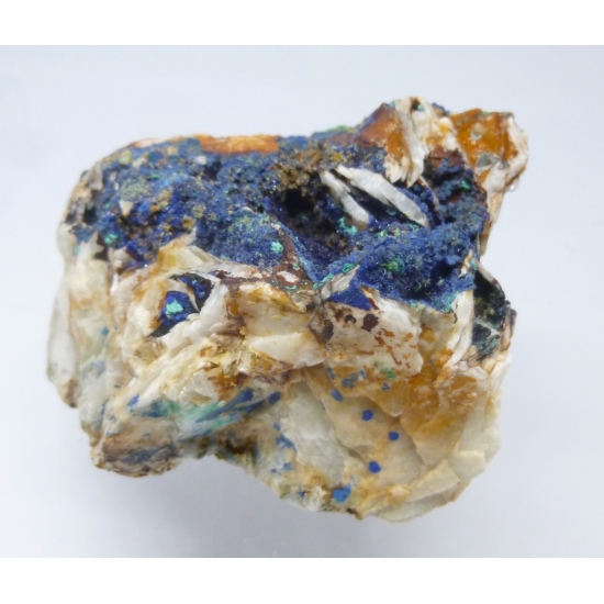 Azurite Malachite & Mimetite