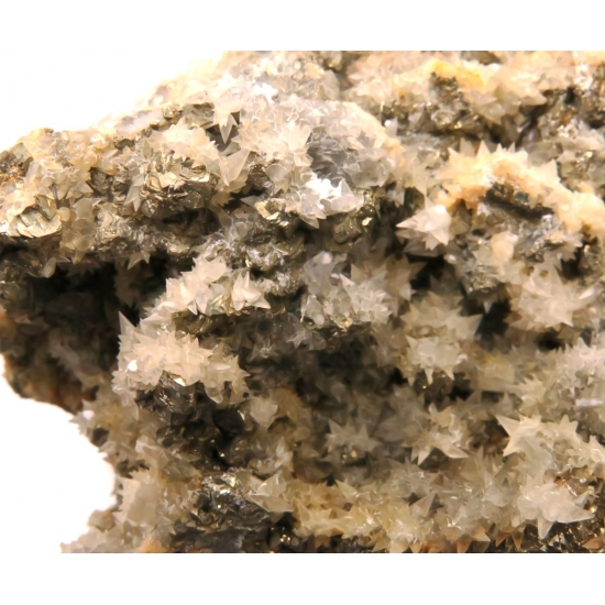 Calcite Over Pyrite
