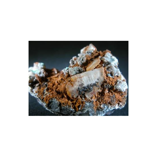Baryte Goethite & Calcite