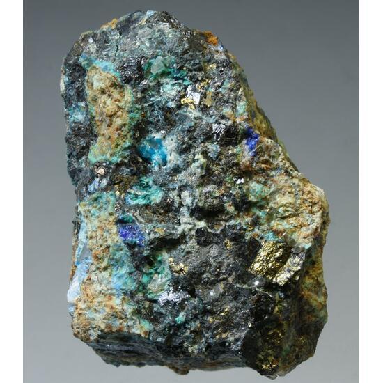 Caledonite Cerussite Linarite Chalcopyrite