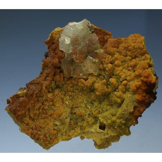 Calcite & Smithsonite With Greenockite & Galena Inclusions