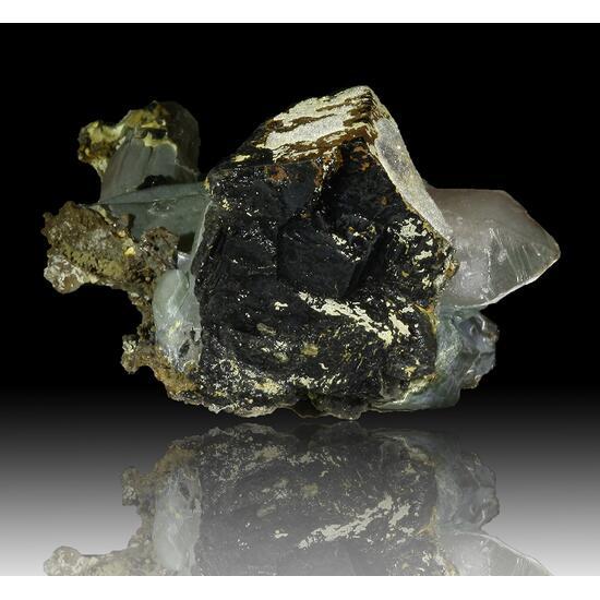 Prase Sceptre Ilvaite & Calcite
