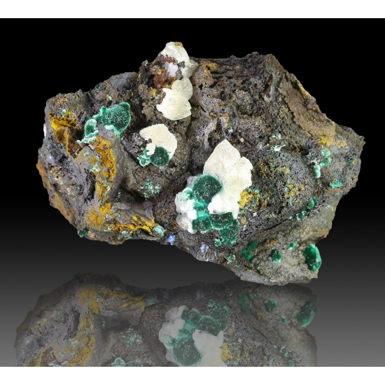 Malachite & Calcite