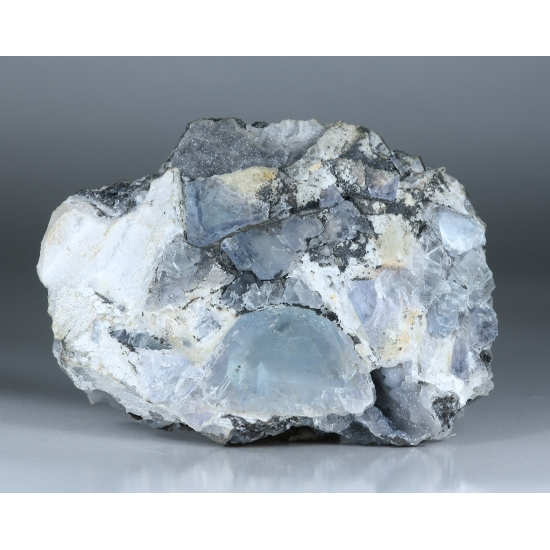Smithsonite On Fluorite