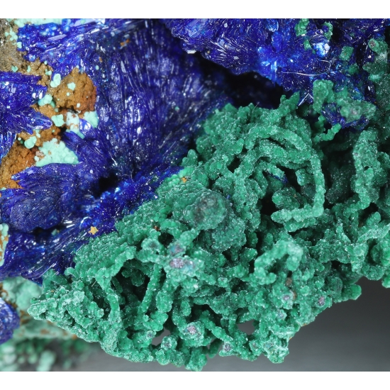 Azurite Malachite & Copper