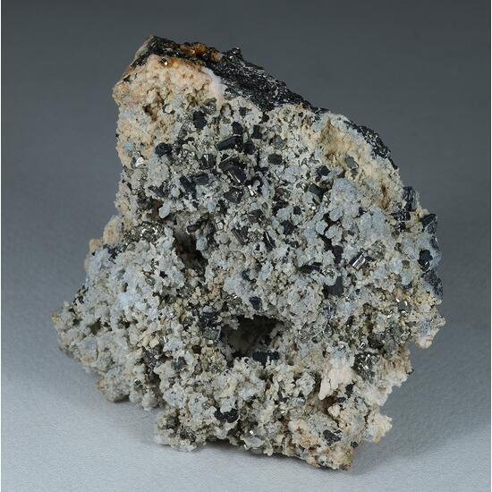 Bournonite Rhodochrosite Pyrite & Quartz