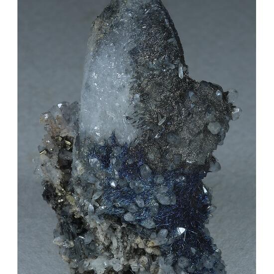 Jamesonite Bournonite Quartz Pyrite & Chalcopyrite