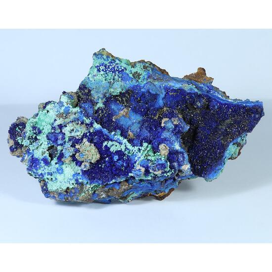 Azurite Olivenite & Conichalcite